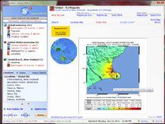 earth alert map