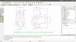 LibreCad screen